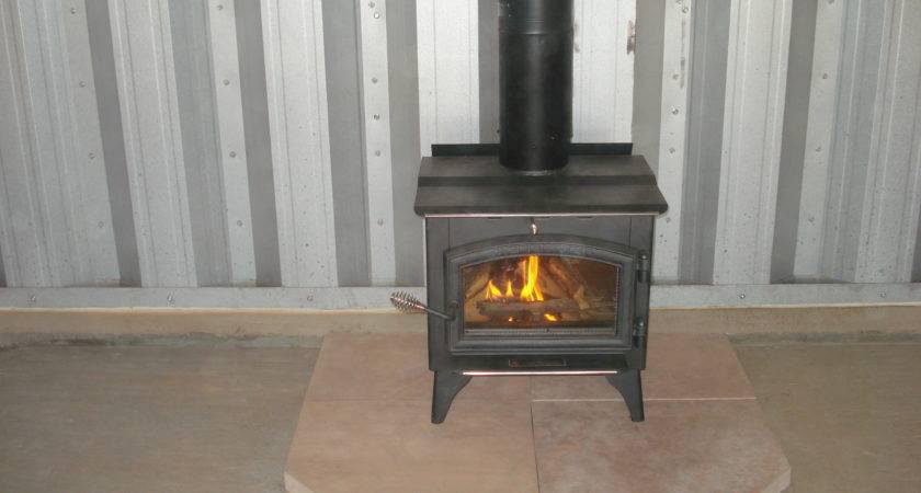Add Wood Stove Your Steel Building Steelmaster