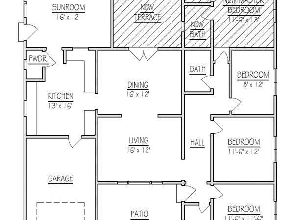 Addition House Plans Custom Simple Unique Home Floor