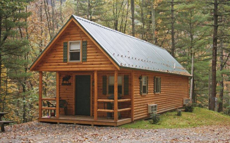 Adirondack Tiny Cabins Manufactured Cozy