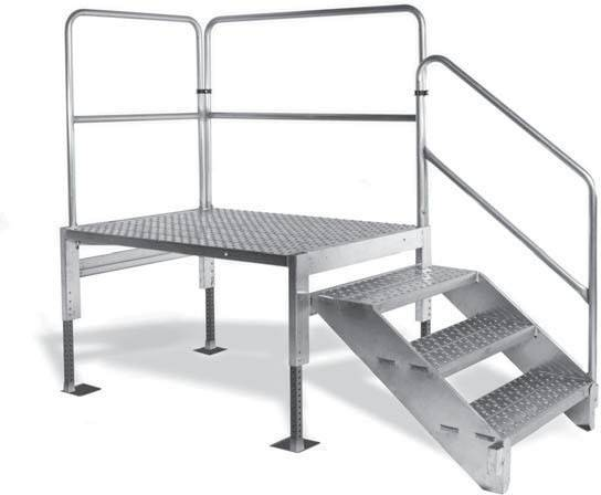 Adjustable Platform Aluminum Work