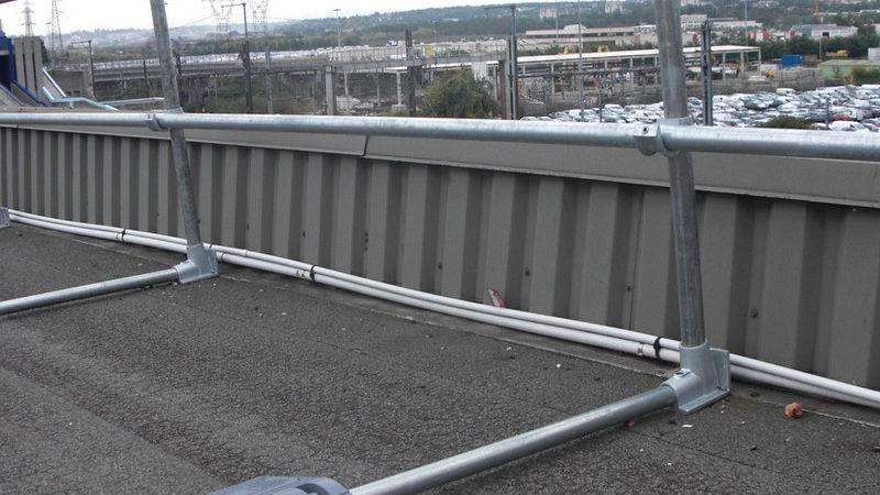 Advantages Keeguard Roof Top Railing Safe