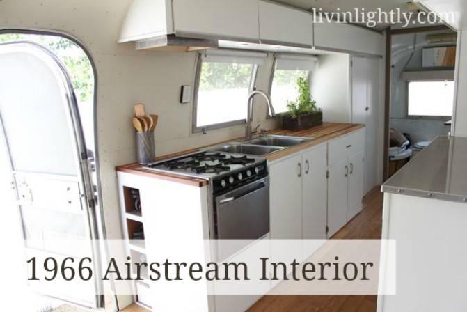 Airstream Interior Tour Livin Lightly