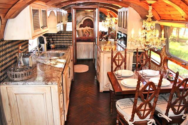 Airstream Makeovers Traditional Kitchen Salt Lake City