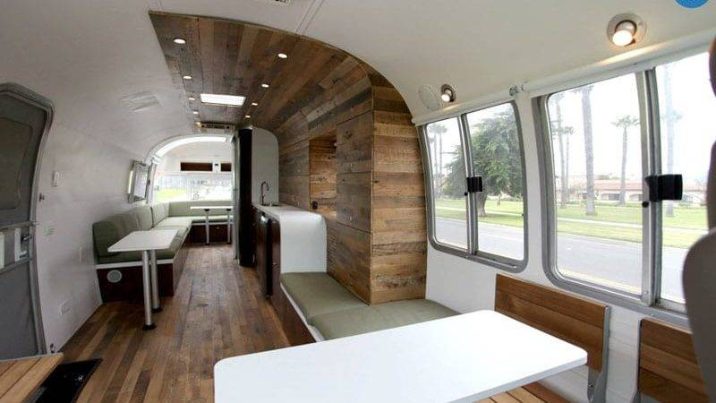 Airstream Renovated Deliver Happiness Across
