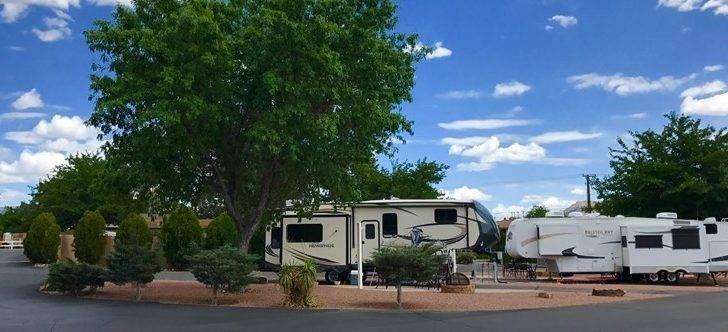 Albuquerque New Mexico Campground Koa