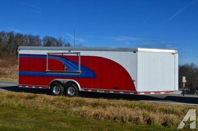 All Aluminum Sooner Enclosed Trailer Custom