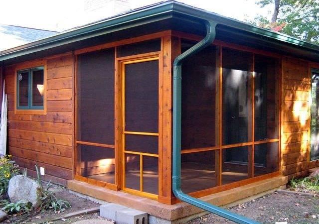 Alternatives Traditional Screened Porch