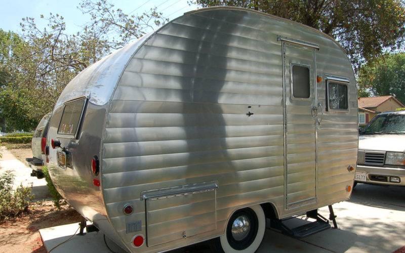 Aluminum Siding Camper