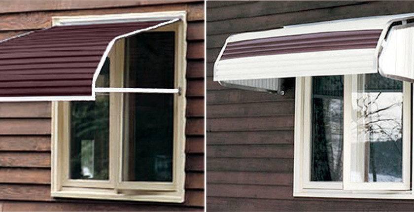 Aluminum Window Awnings Sale