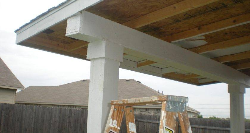 Amazing Building Roof Over Patio Design Extend