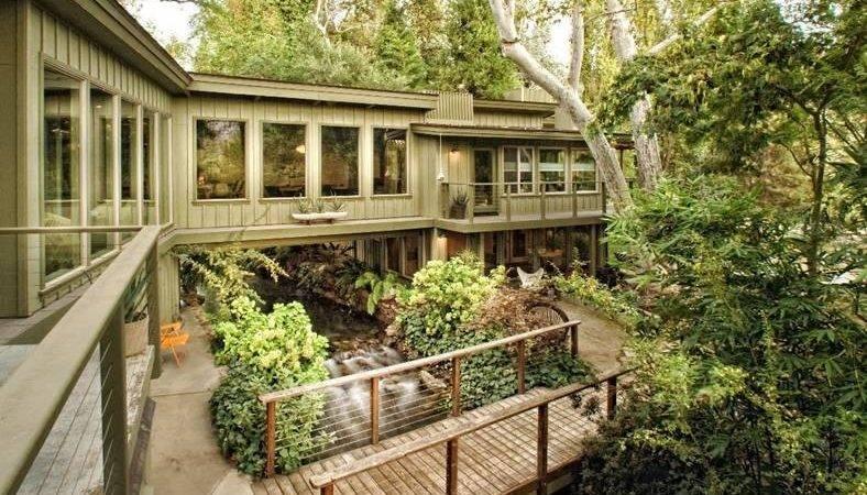 Amazing House Built Across River