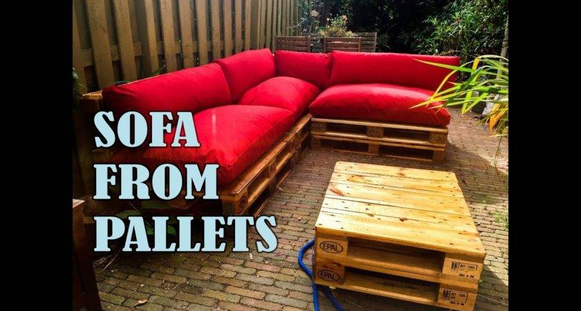 Amazing Make Corner Sofa Pallets