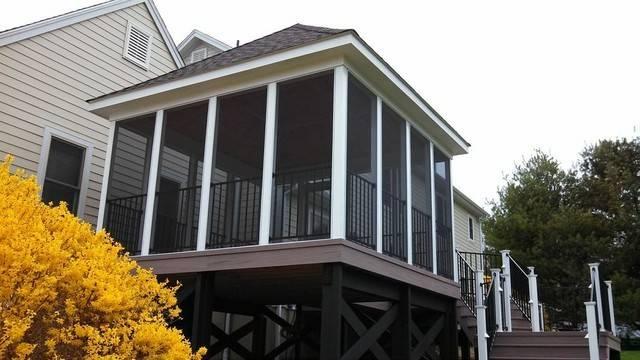 Amazing Porch Patio Orange Back Yard
