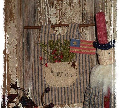 Americana Home Decor Patriotic Flags