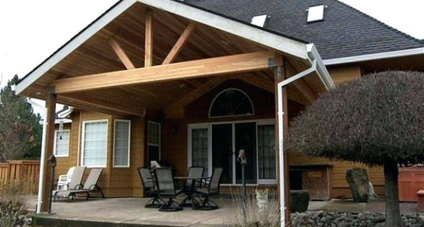 Attach Patio Roof Existing House Outdoor