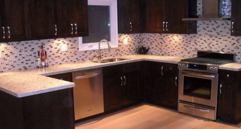 Attach Plastic Backsplash Tiles Cabinet Hardware Room