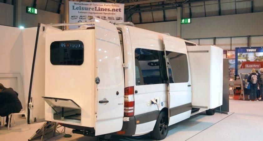Ausziehen Mehr Platz Caravan Reisemobil Der