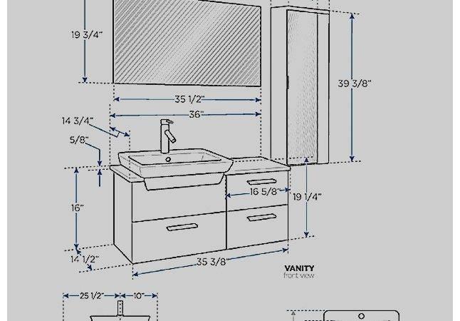 Average Bathroom Sink Height Concept Arc