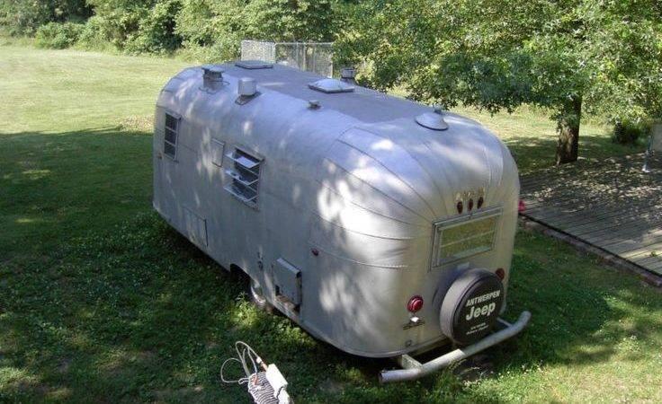 Avion Vintage Travel Trailer Camper Ruggedthug