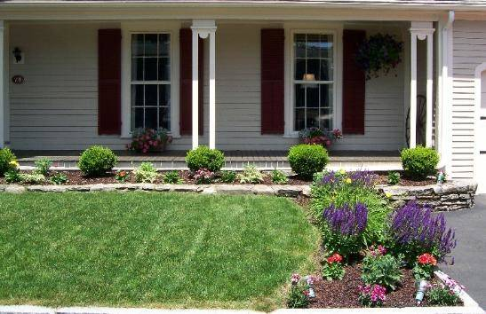 Awesome Front Yard Gardens Design Transform Bland Area