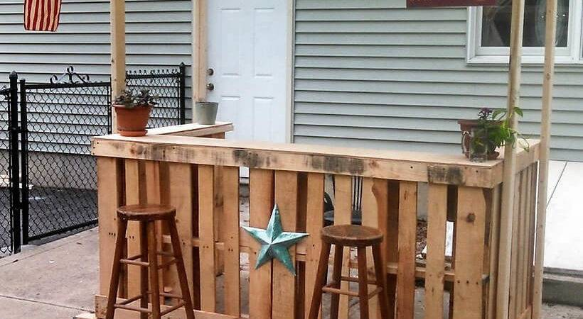 Awesome Ideas Wood Pallets Made Bars Diy Motive Part