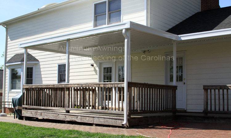 Awning Over Deck