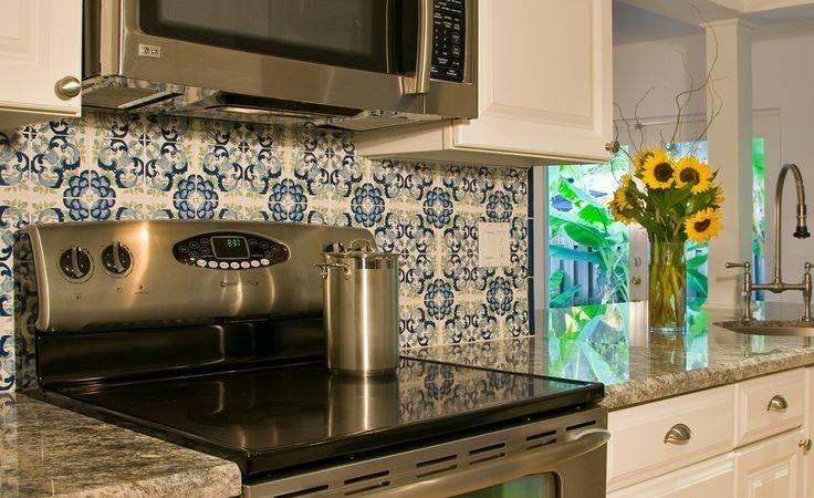 Backsplash Hand Painted Tiles Kitchen Best