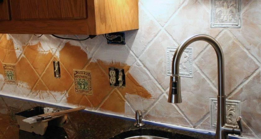 Backsplash Solution Yep Can Paint Tile