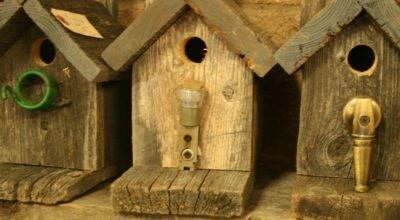 Barnwood Crafts Birdhouses