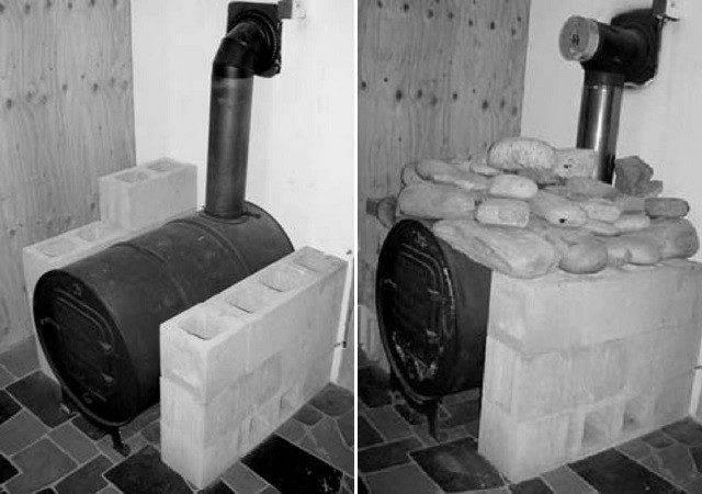 Barrel Stove Builds Bing