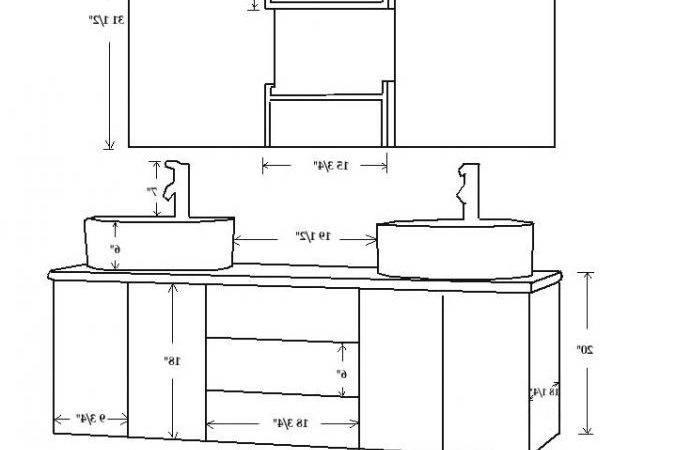 Bathroom Cabinet Measurements Part Mirror Height