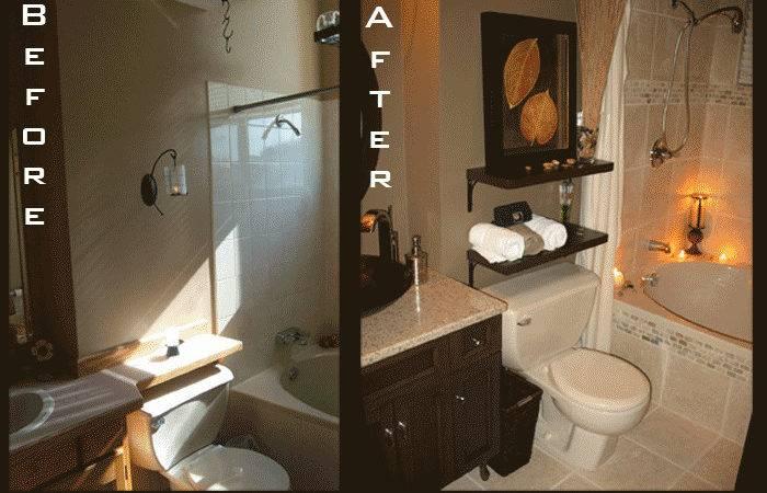 Bathroom Remodels Before After Home