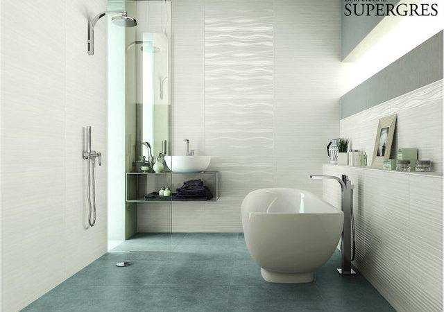 Bathroom Wall Covering Marble Effect Traditional Tile