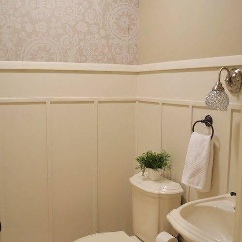 Bathroom Wall Paneling Sincerely Sara