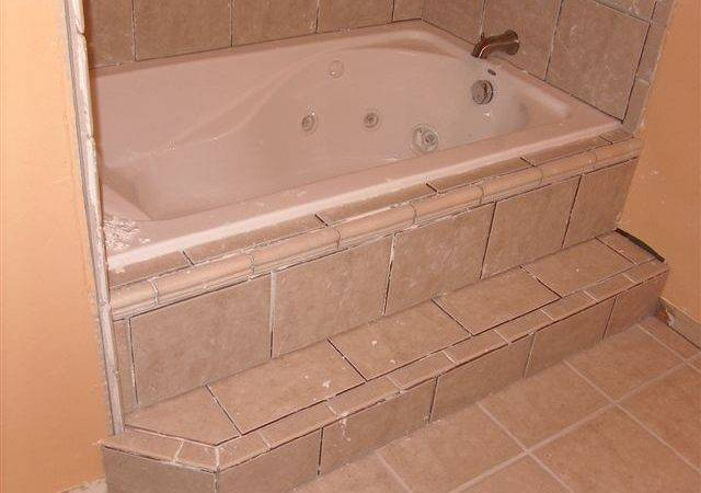 Bathtub Renovation Progress Triangle Home Solutions