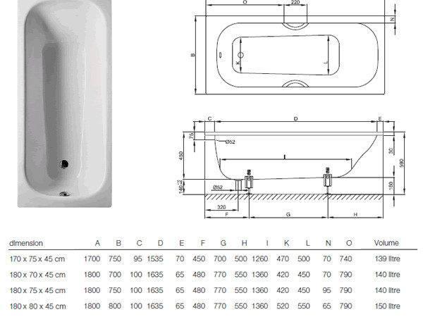 Bathtub Shower Bathroom Design