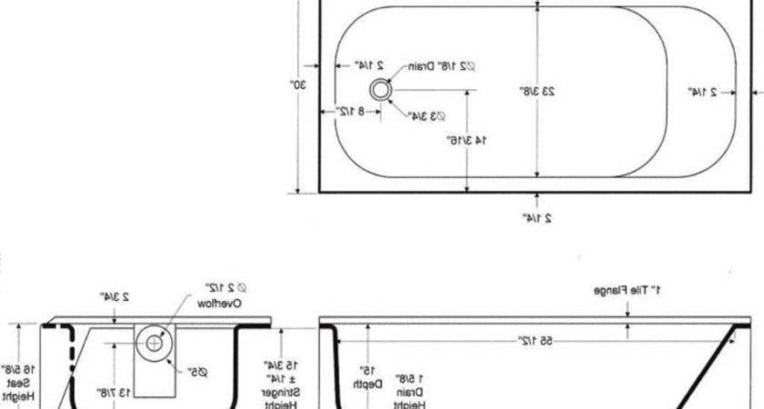 Bathtubs Idea Standard Tub Shower