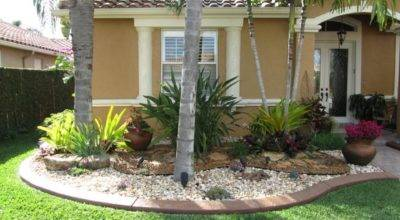 Beach House Living Rooms Florida Front Yard Landscaping