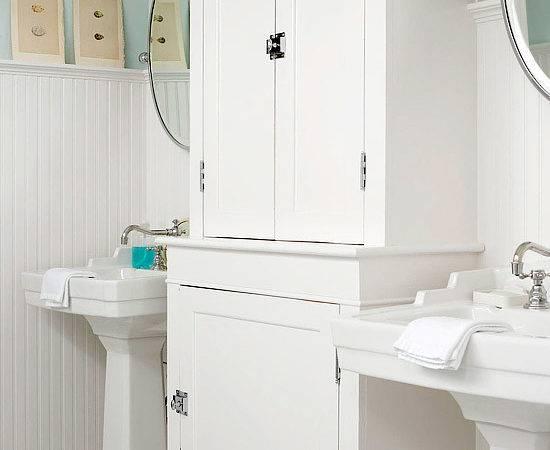 Beadboard Bathroom Cottage Bhg