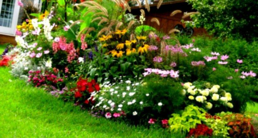 Beautiful Front Yard Flower Beds Landscape Design