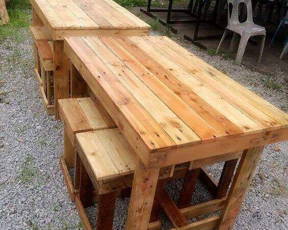 Beautiful Patio Furniture Made Out Wood Pallets