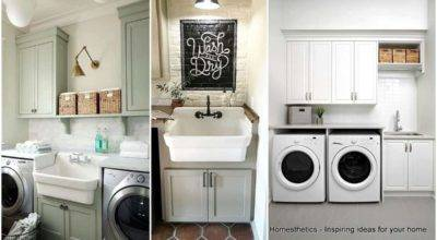 Beautifully Inspiring Laundry Room Cabinets Ideas