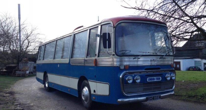 Bedford Coach Bus Race Transporter Motorhome Living