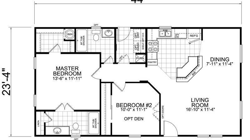 Bedroom Fema Trailer Floor Plan Furniture High
