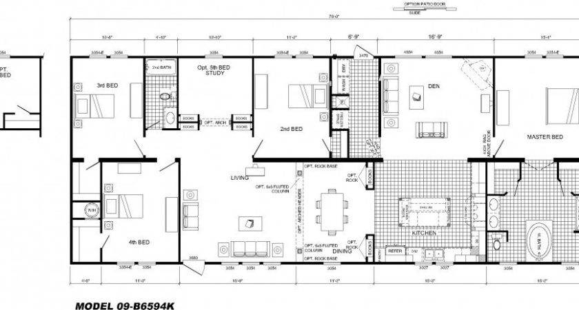 Bedroom Floor Plan Hawks Homes Manufactured