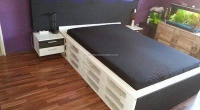 Bedroom Furniture Made Pallets Interiors Design