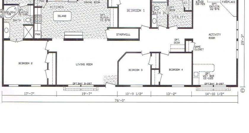 Bedroom Trailer Floor Plans Mobile
