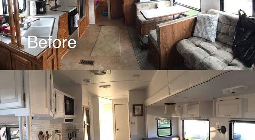Before After Camper Interior Remodeling Decomg