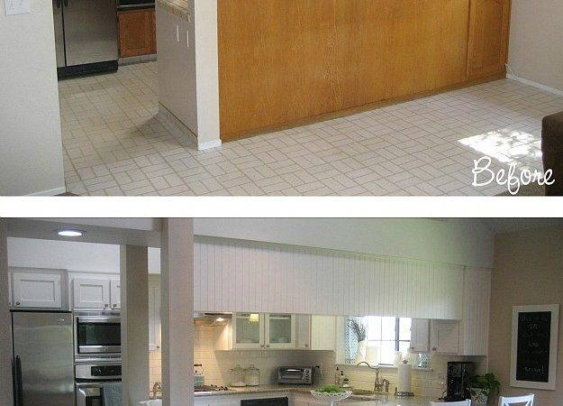 Before After Carolyn Yucky Kitchen Hooked