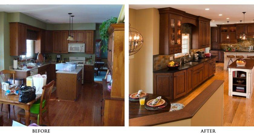 Before After Home Remodel Best Kitchen Decoration